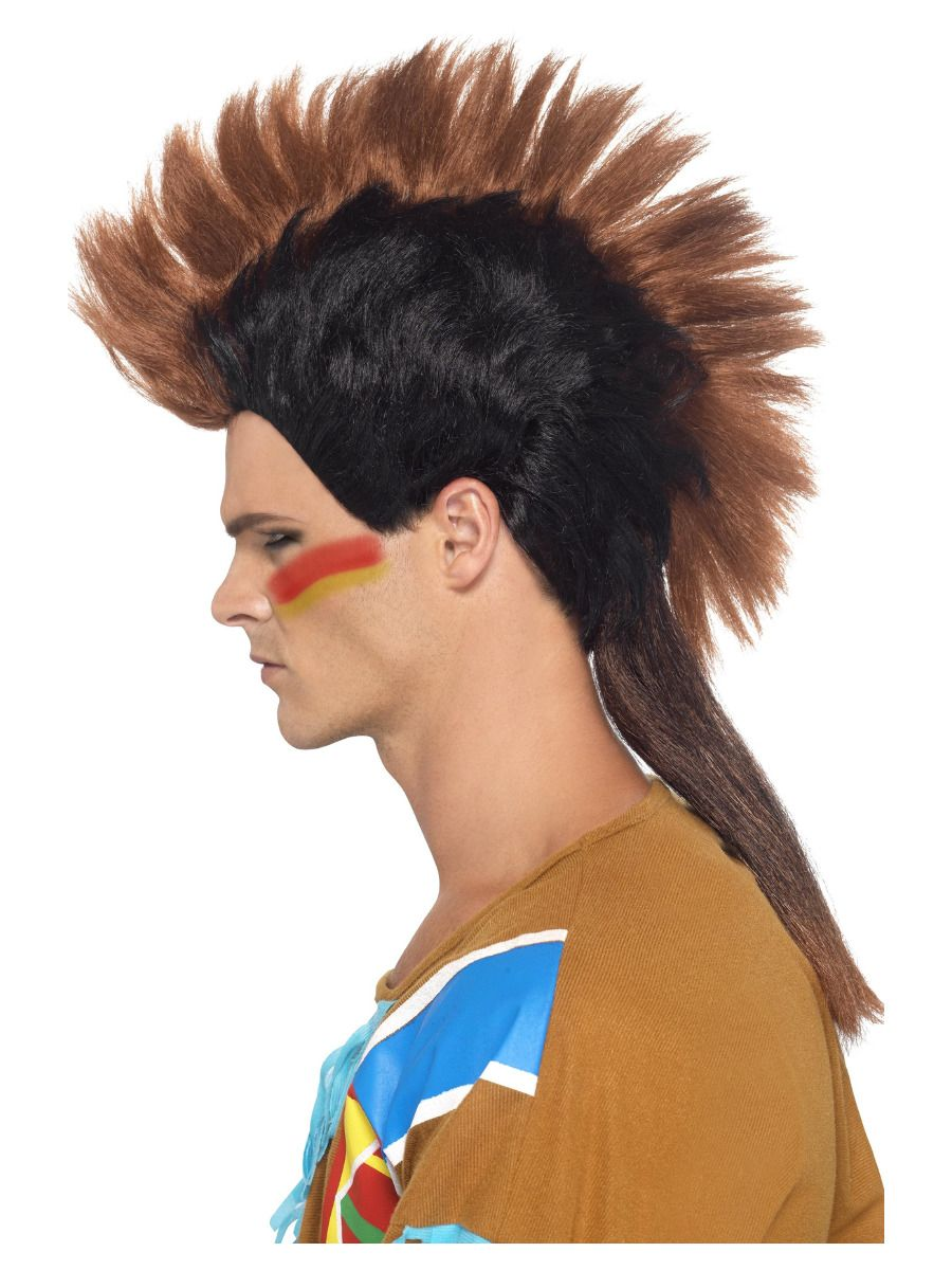 WIG/NOVELTY/Native American Inspired Male Mohican Wig