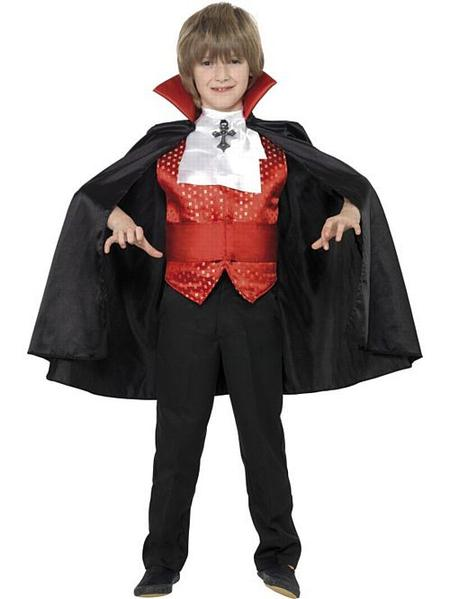 BOYS/HALLOWEEN/Dracula Boy Costume, Black