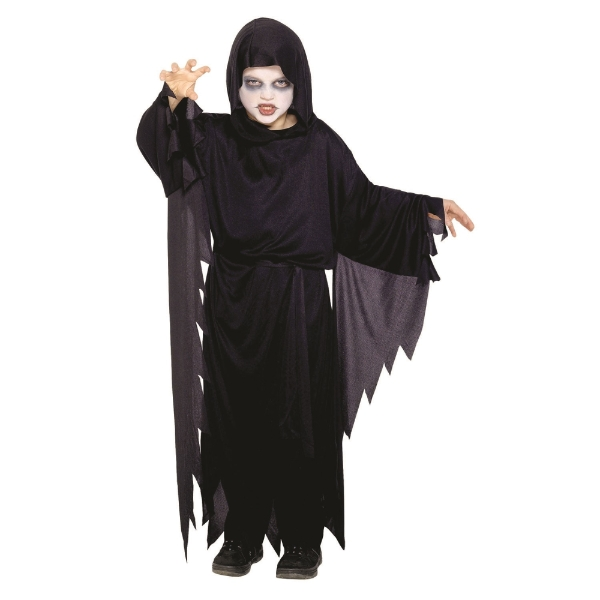 BOYS/HALLOWEEN/Screamer Ghost Costume, Black