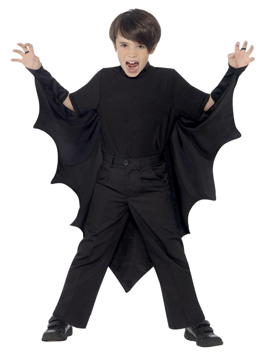 GIRLS/HALLOWEEN/Kids Vampire Bat Wings, Black
