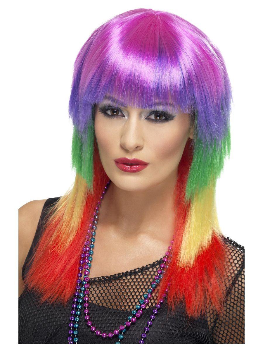 WIG/POPSTARS/Rainbow Rocker Wig, Rainbow