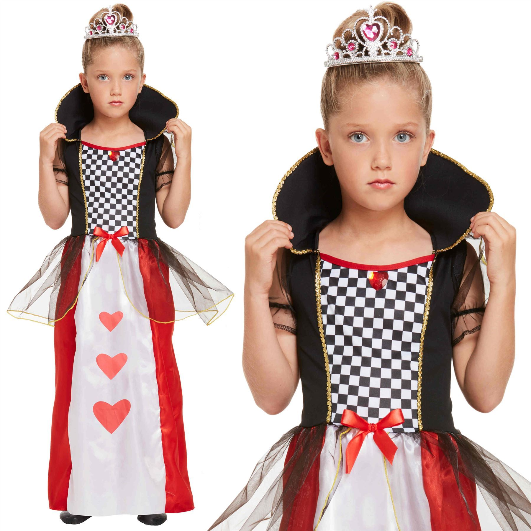 GIRLS/HISTORY/ Children's Queen of Hearts Costume