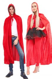 ACCESSORIES/CAPES/RED CAPE