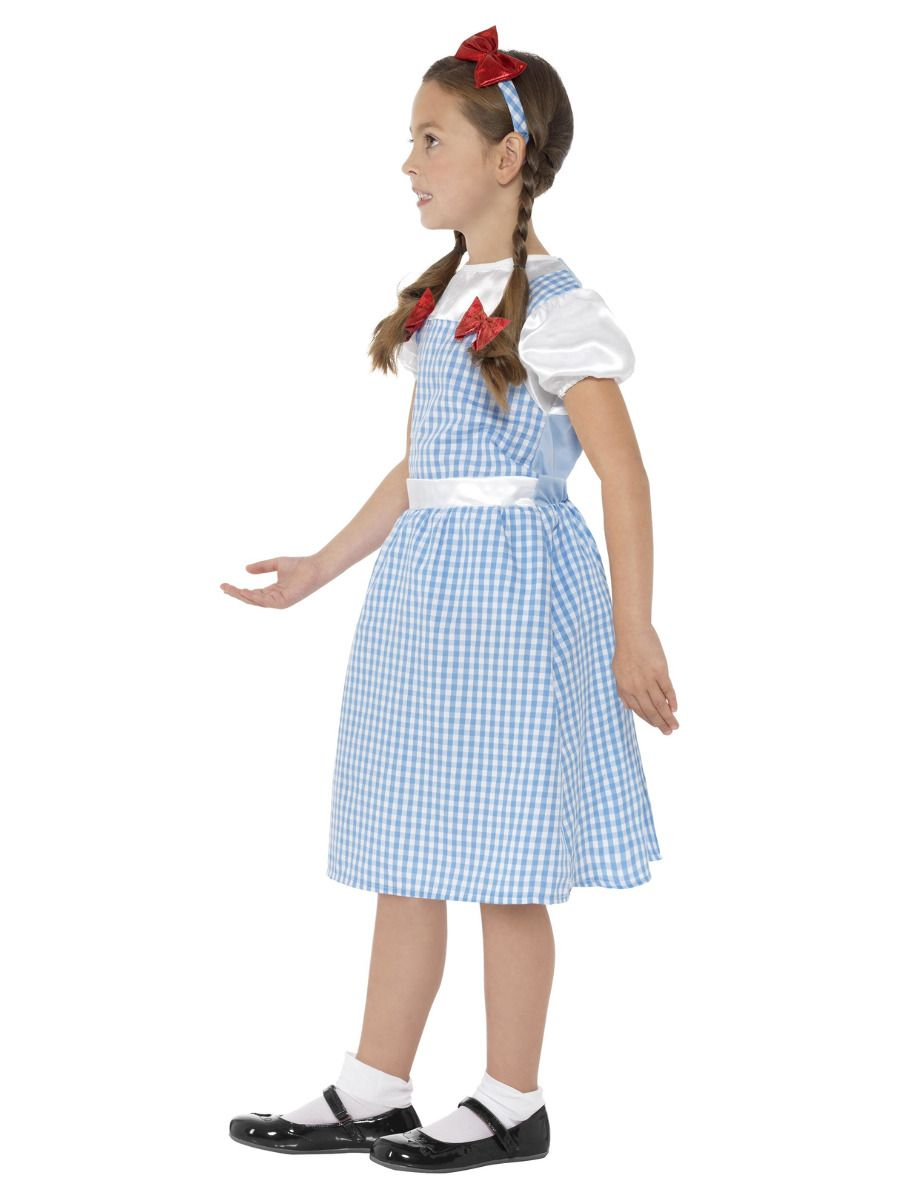 GIRLS/COWBOYS & INDIANS/Country Girl Costume, Blue