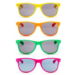 ACCESSORIES/GLASSES/NOVELTY NEON GLASSES
