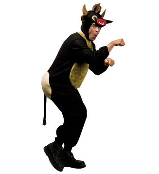 MENS/ANIMALS/ RAGING BULL ANIMAL COSTUME