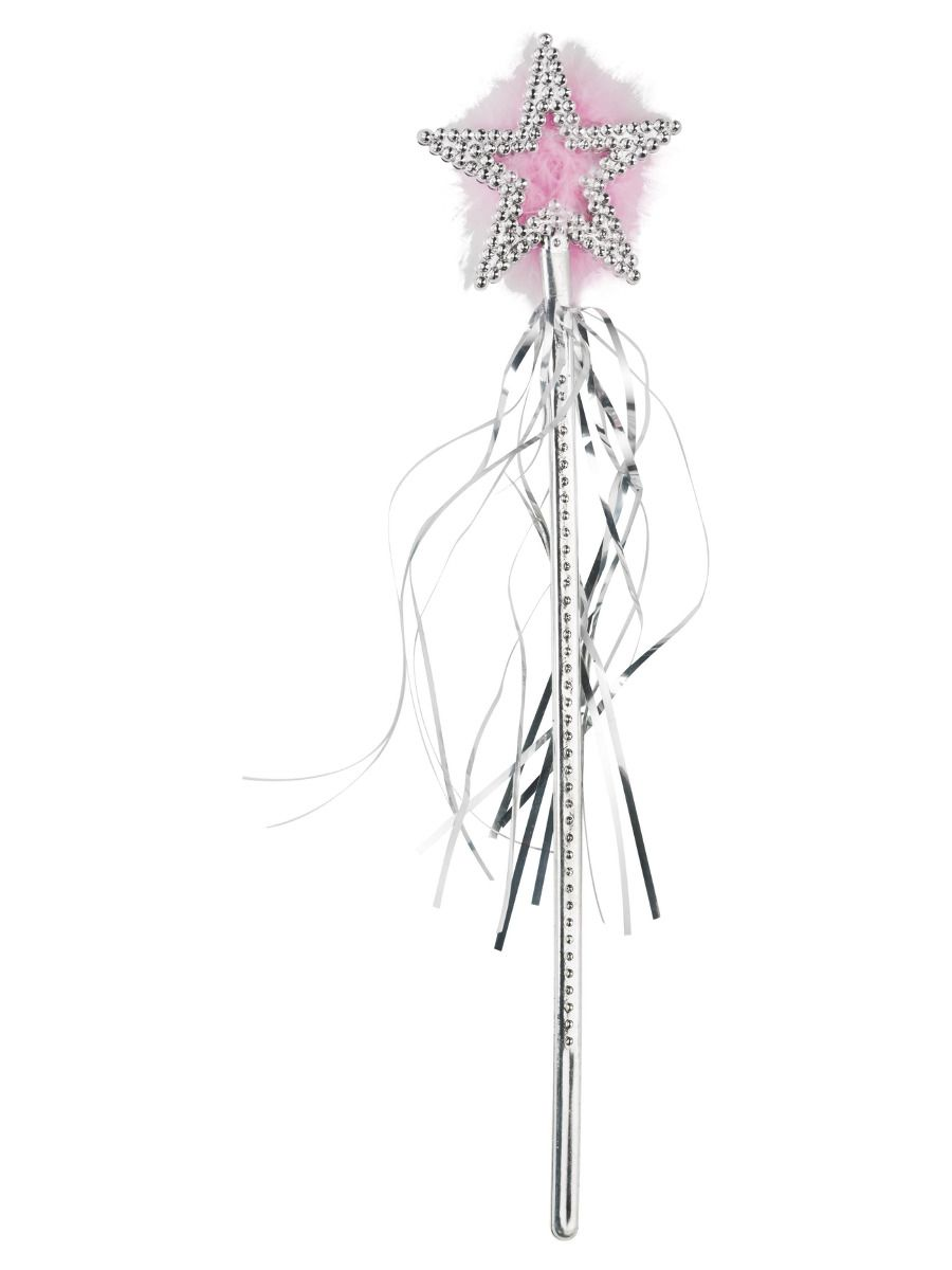 ACCESSORIES/PROPS/Star Wand, Silver