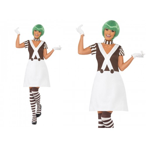 WOMAN/FAIRYTALE/OOMPA LOOMPA FACTORY OUTFIT