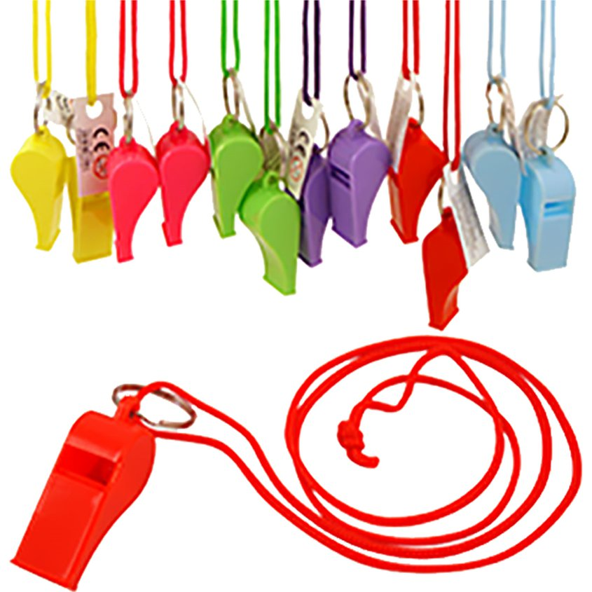 ACCESSORIES/PROPS/Multicolour Whistles