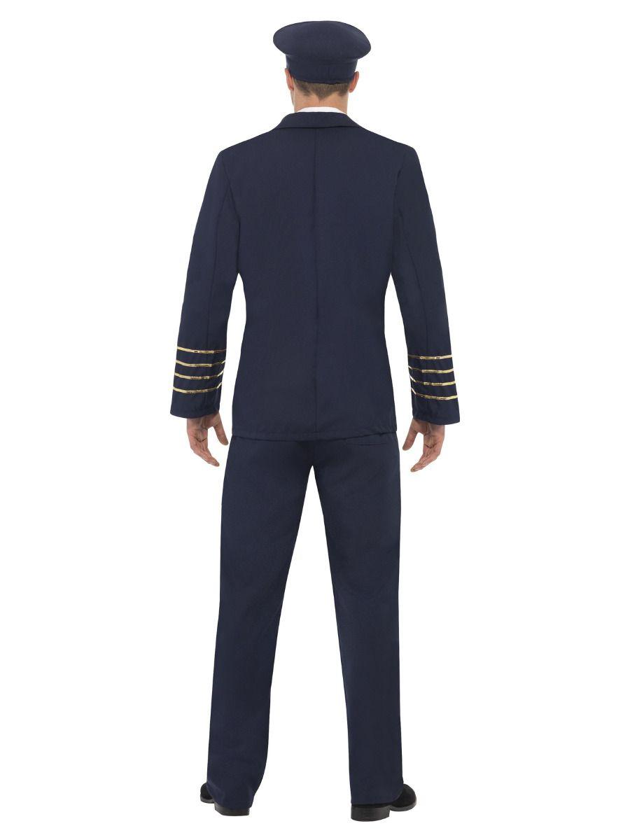 MENS/UNIFORMS/Pilot Costume, Navy Blue