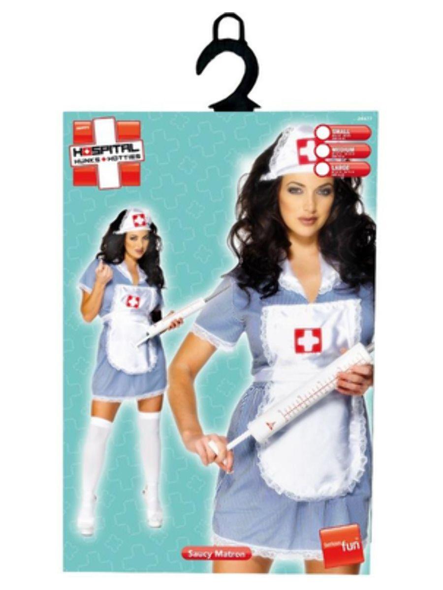 WOMAN/UNIFORMS/Nurse Naughty Costume, Blue