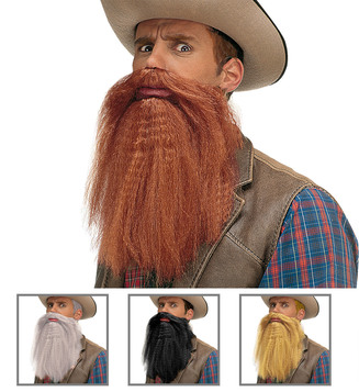 ACCESSORIES/BEARD & MOUSTACHES/BEARD/MOUSTACHE WITH LIPS - 4 colours