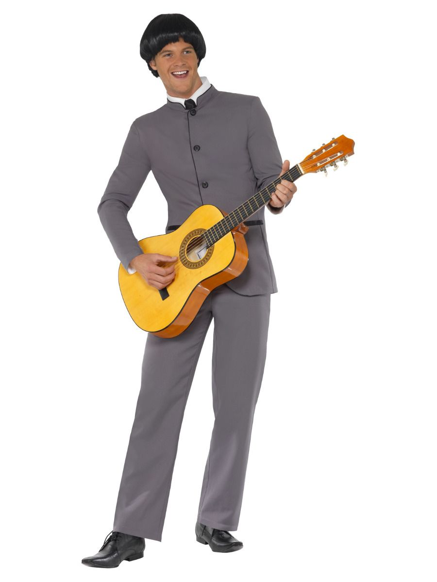 MENS/DECADES/1960'S/Fab Four Iconic Costume, Grey