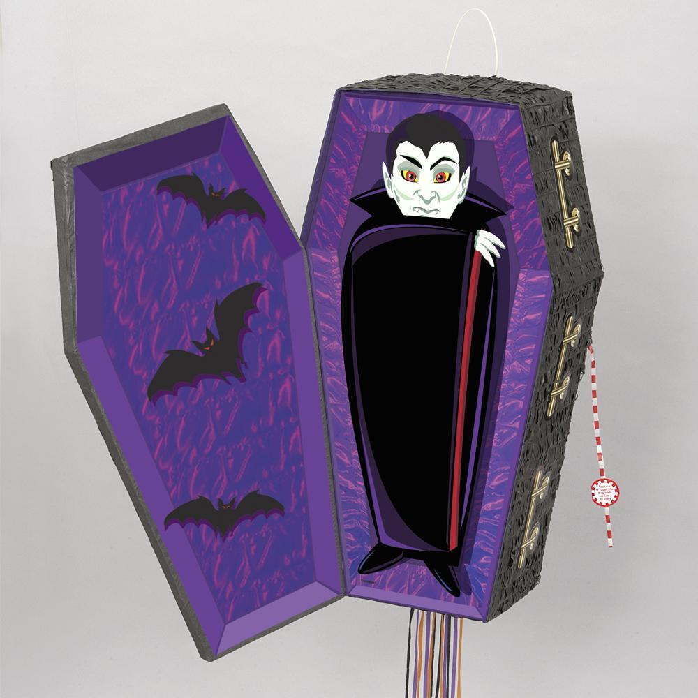 ACCESSORIES/HALLOWEEN/PROPS/VAMPIRE COFFIN PINATA