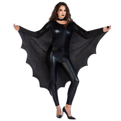 WOMAN/HALLOWEEN/ Bat Wing Cape - Adult