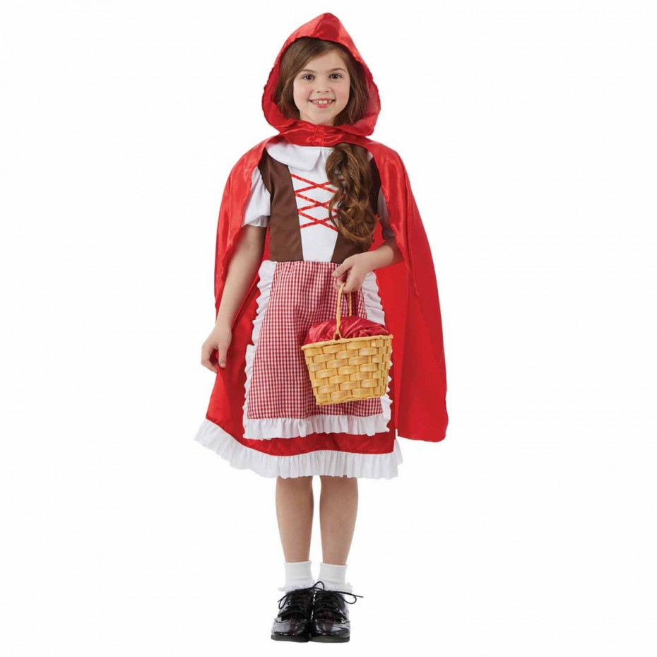 GIRLS/FAIRYTALE/ KIDS RED FAIRYTALE CAPE COSTUME