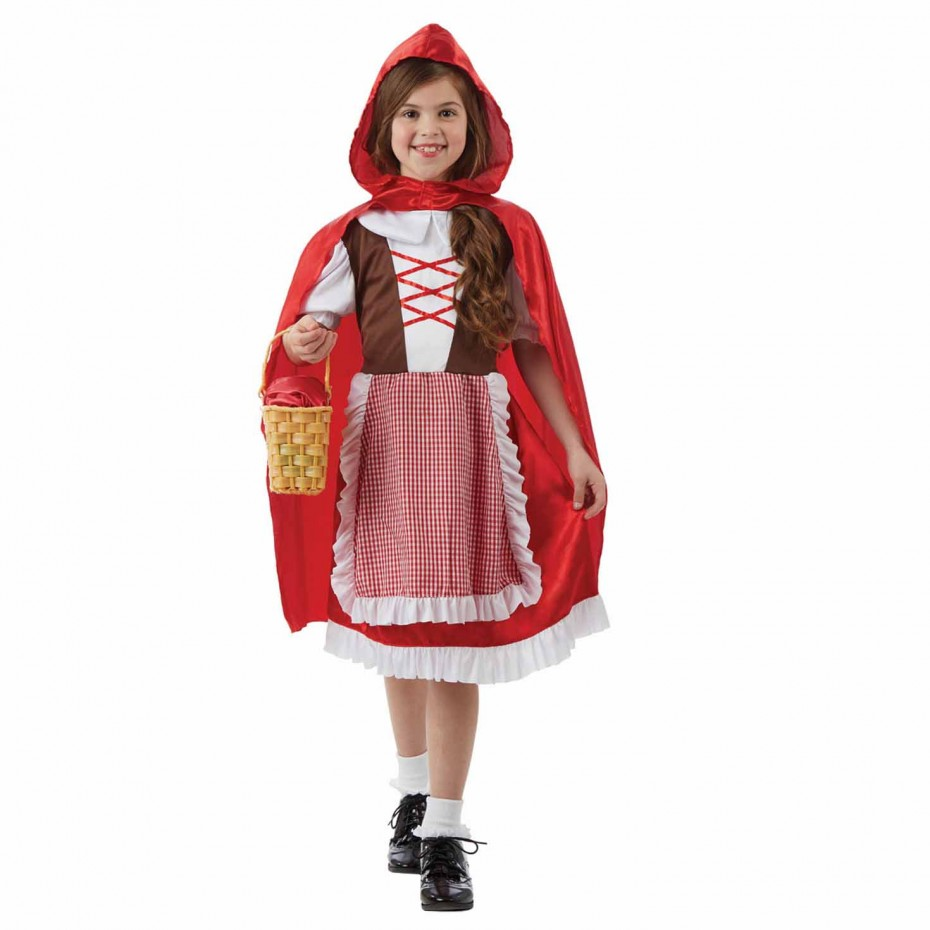 GIRLS/FAIRYTALE/ KIDS RED FAIRYTALE CAPE COSTUME