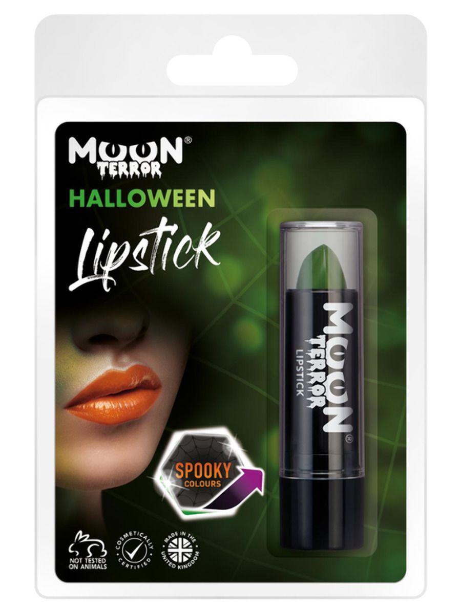 MAKE UP/FACE & BODY PAINT/ Moon Terror Halloween Lipstick, Green