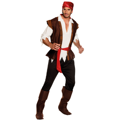 MENS/PIRATE/DELUXE DECKHAND