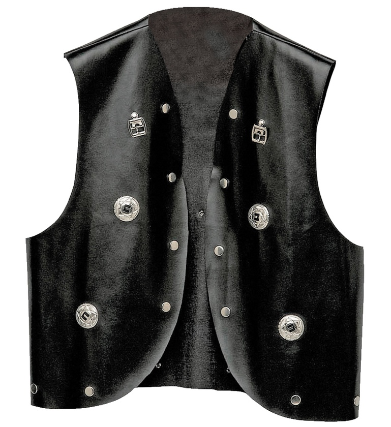 MENS/POPSTARS & CELEBRITIES/STUDDED WAISTCOAT
