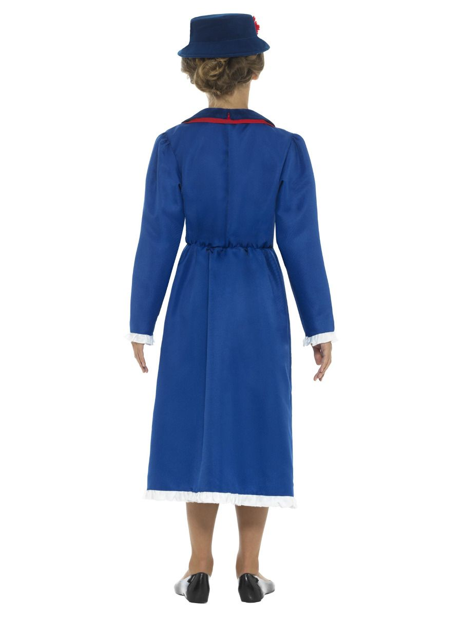 GIRLS/TV & FILM/Victorian Nanny Costume, Blue