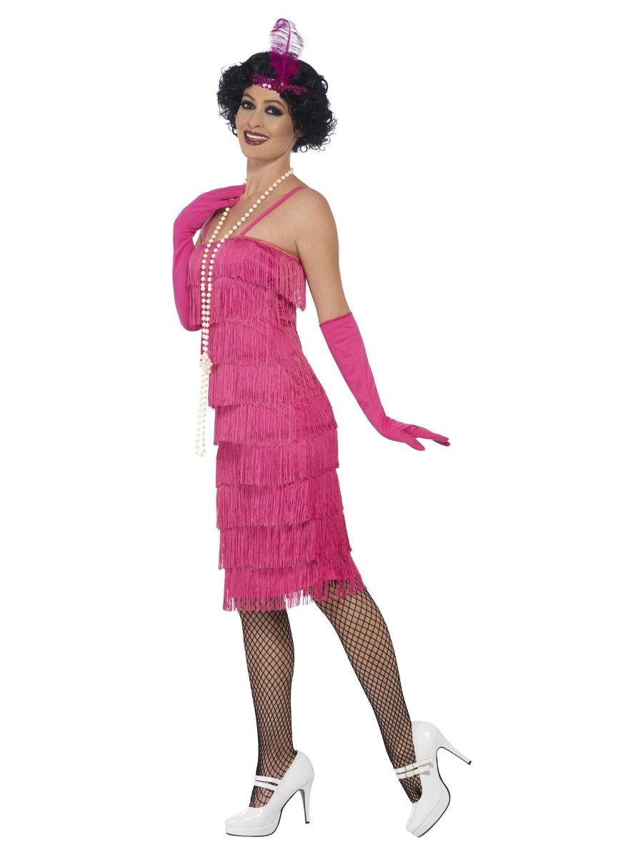 WOMAN/DECADES/1920'S/FLAPPER DRESS,GLOVES,HEADBAND