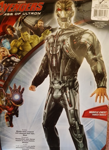 MENS/SUPERHERO/Ultron Deluxe Adult