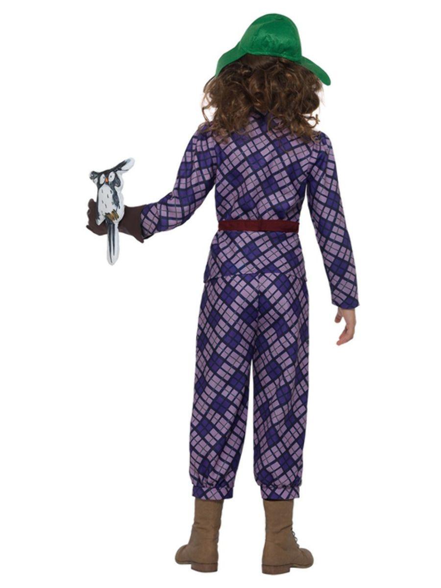 GIRLS/FILM & TV/David Walliams Deluxe Awful Auntie Costume, Purple