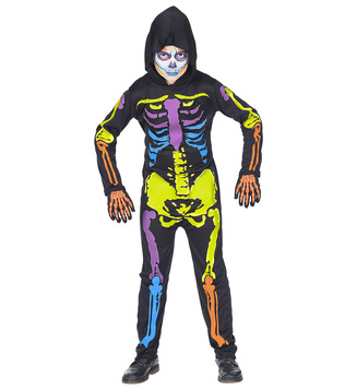 BOYS/HALLOWEEN&HORROR/COLOURFUL SKELETON
