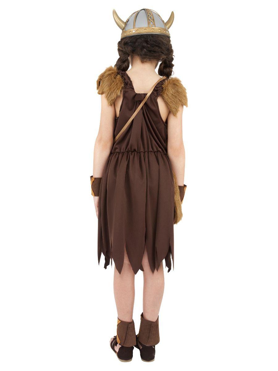 GIRLS/HISTORY/Viking Girl Costume, Brown
