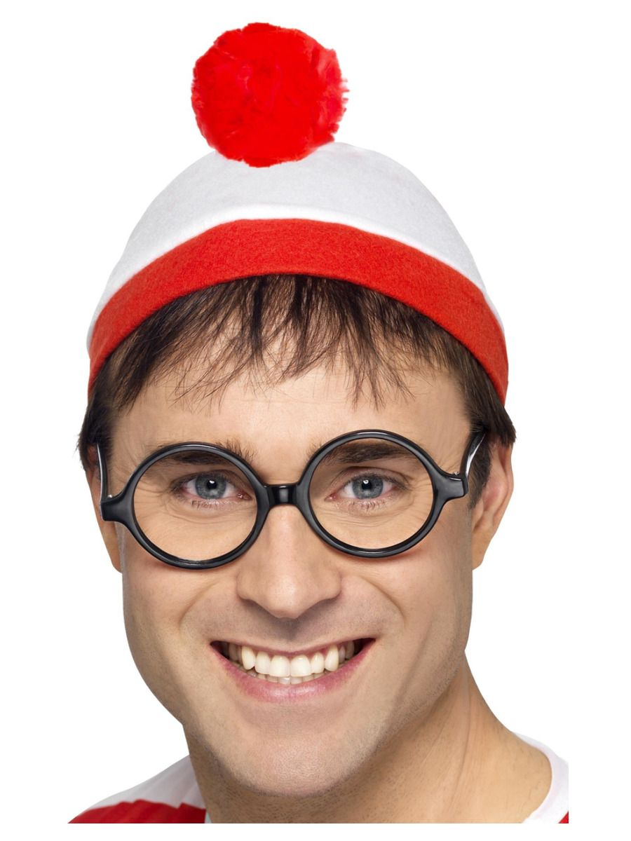 ACCESSORIES/CHARACTER KITS/WHERES WALLY HAT & GLASSES