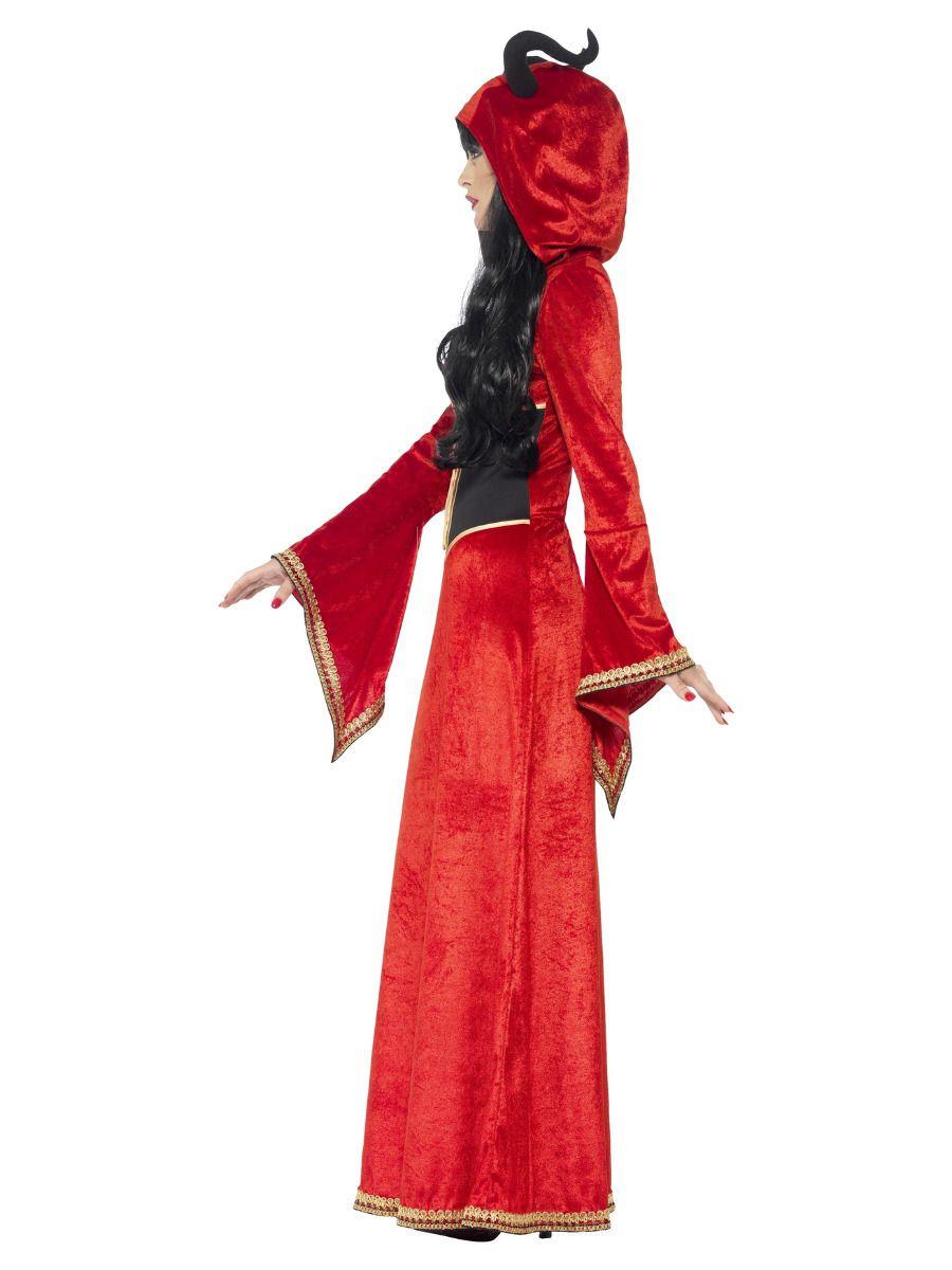 WOMAN/HALLOWEEN/Demonic Queen Costume, Red