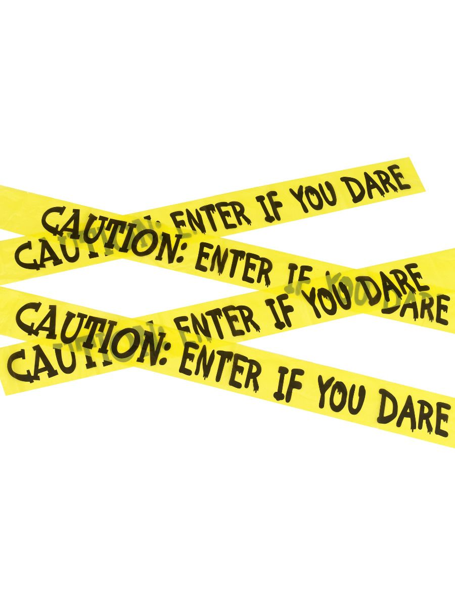 ACCESSORIES/HALLOWEEN/PROPS/CAUTION ENTER IF YOU DARE TAPE
