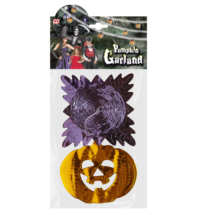 ACCESSORIES/HALLOWEEN/PROPS/PUMKIN GARLAND