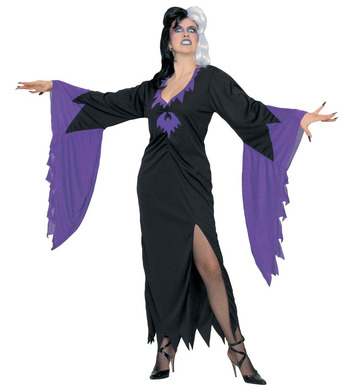 WOMAN/HALLOWEEN/ MORTISIA DRESS