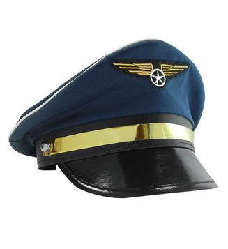 ACCESSORIES/HATS & HEADBANDS/PILOT HAT ADJUSTABLE - DELUXE