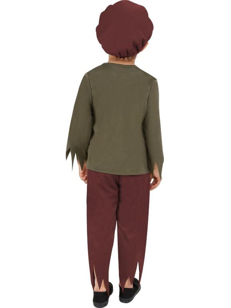 BOYS/HISTORY/ Victorian Poor Boy Costume, Green