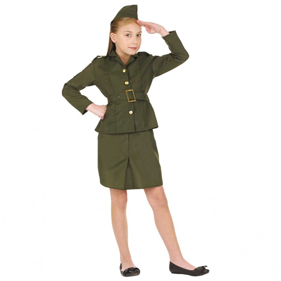 GIRLS/UNIFORMS/ ARMY GIRL