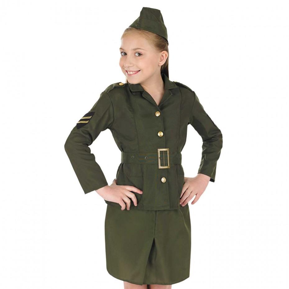 GIRLS/UNIFORMS/ ARMY GIRL