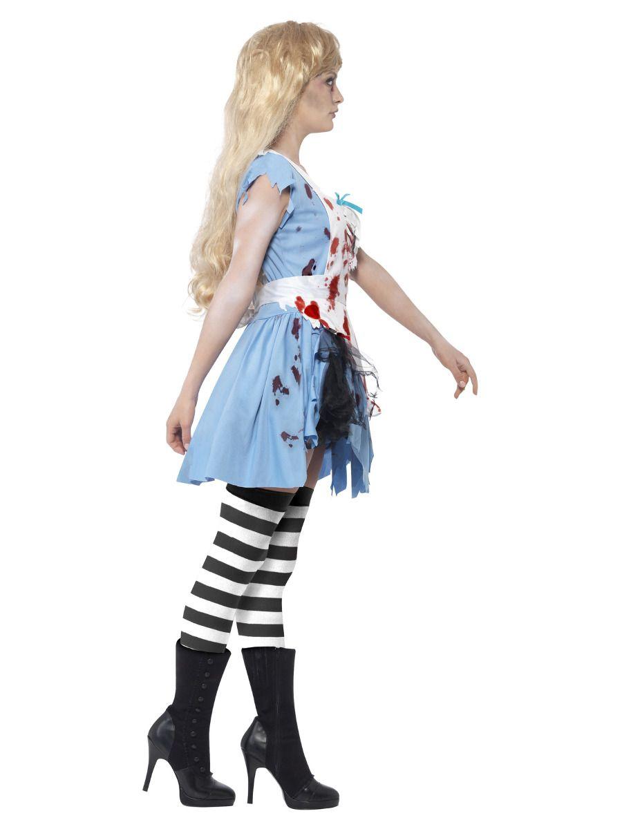 WOMAN/HALLOWEEN/Zombie Malice Costume, Blue