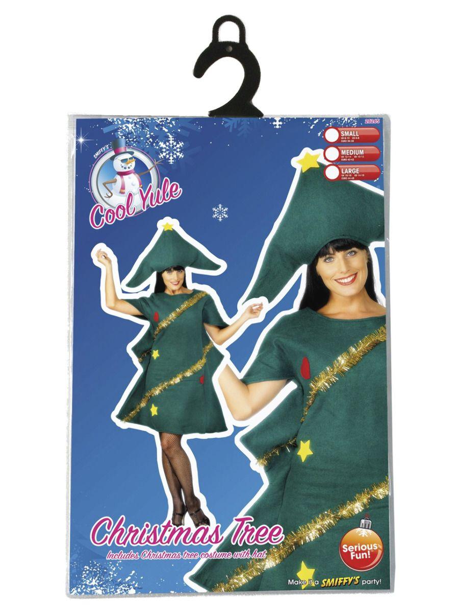 WOMAN/CHRISTMAS/Christmas Tree Costume, Green