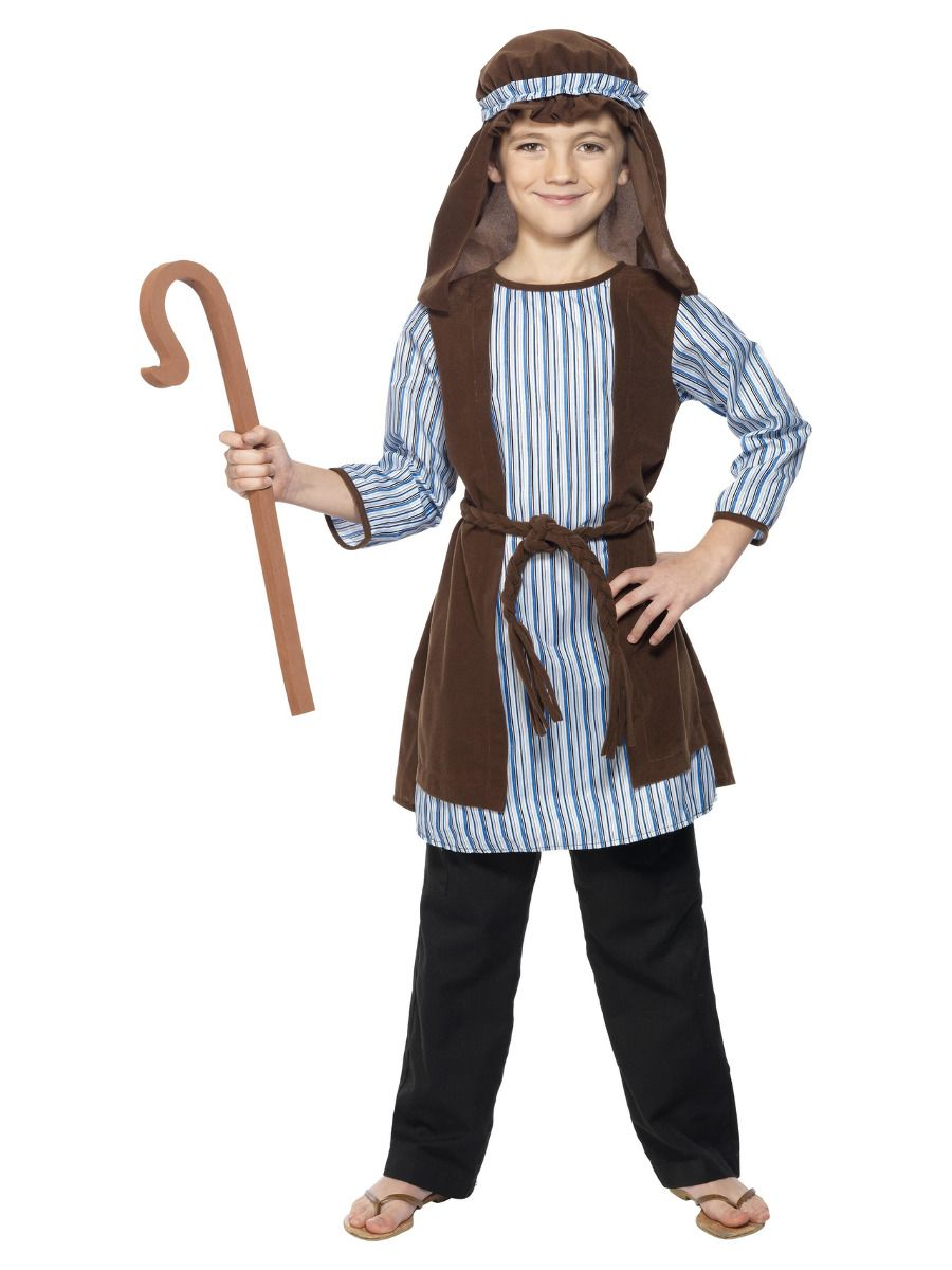 BOYS/CHRISTMAS/Shepherd Costume, Blue & Brown