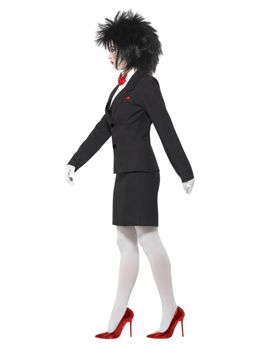 WOMAN/HALLOWEEN/SAW Billy Costume, Black