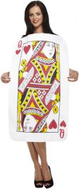 WOMAN/COMEDY/ QUEEN OF HEARTS PLAYING CARD