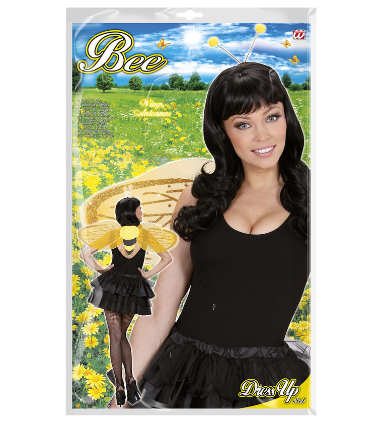 ACCESSORIES/CHARACTER KITS/BEE DRESS UP SET - ADULT (wings antenna)