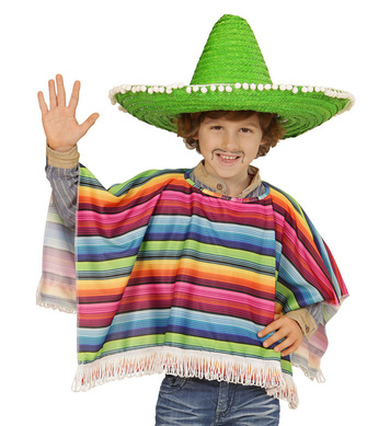 BOYS/COUNTRIES/MEXICAN - CHILD (poncho)