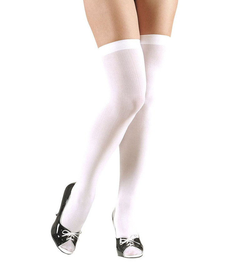 ACCESSORIES/TIGHTS & STOCKINGS/OVER THE KNEE SOCKS 70 DEN - WHITE