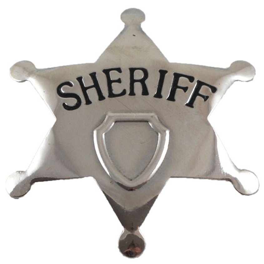 ACCESSORIES/PROPS/ SHERIFF STAR BADGE
