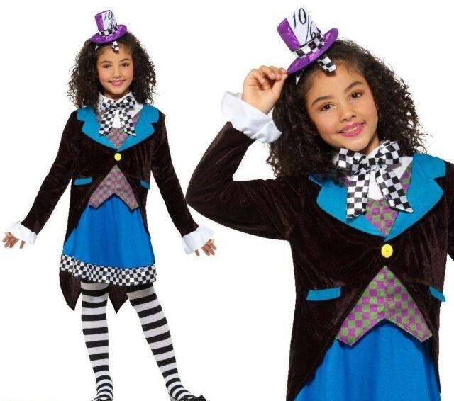 GIRLS/TV & FILM/ Deluxe Little Miss Hatter Costume