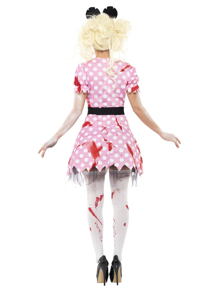 WOMAN/HALLOWEEN/ Zombie Rodent Costume, Pink